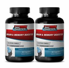 Memory Function Aid - Brain & Memory Booster 777mg - Support Brain Blood Flow 2B
