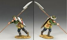 KING & COUNTRY MEDIEVAL KNIGHTS & SARACENS MK096 THE HAPPY MAN AT ARMS MIB