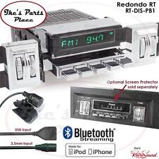 RetroSound Redondo-RT Radio/BlueTooth/iPod/USB/RDS/3.5mm AUX-In 68-70 Dodge Cars