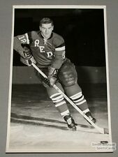 Original 1964-65 Providence Reds Bob Blackburns Photo