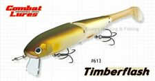 Ever Green Timberflash 23cm timber/plastic Cod Big Bait lure;613