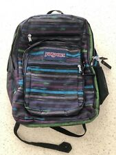 Multicolor Striped Big Student JanSport Backpack