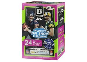 2017 Panini Donruss Optic NFL Football card Box FACTORY SEALED. BRAND NEW.