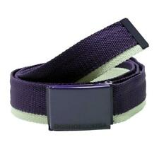 Just Found - Rare! New Authentic DC Shoes TAGG TEAM BELT Purple/White __S152