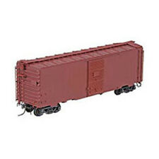 Kadee #4000 Undecorated 1950-1953 Narrow Tab 40' PS-1 Boxcar Red RTR HO Scale
