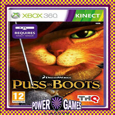 Puss in Boots (Microsoft Xbox 360) Brand New