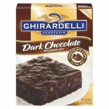 Ghirardelli Dark Chocolate Brownie Mix 20 Oz