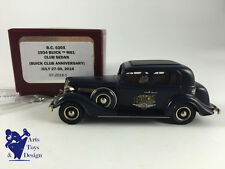1/43 BROOKLIN BC 020X BUICK M61 CLUB SEDAN 1934 BUICK CLUB ANNIVERSARY