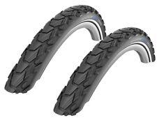 2 Stück Schwalbe Marathon Cross Fahrrad Reifen 47-559 26 x 1,75 Reflex RaceGuard