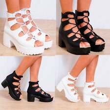 Unbranded Women's Synthetic Strappy, Ankle Straps Wedge Shoes