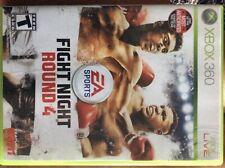Fight Night Round 4 (Microsoft Xbox 360, 2009) Free Shipping