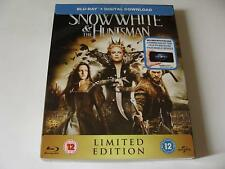 Snow White and the Huntsman Steelbook Bluray + Slipcase UK Edition Region B New