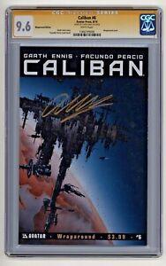 Avatar Press's Caliban #6 Garth Ennis Signed Wraparound EditionCGC 9.6