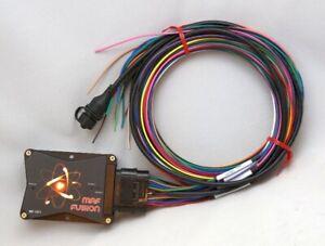 Mass airflow sensor signal converter module & auxiliary fuel injector controller
