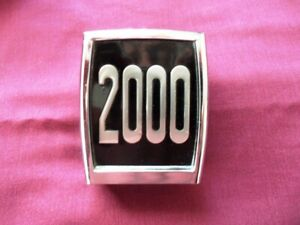 Triumph 2000 Mk1 Bumper Badge Emblem Very good condition
