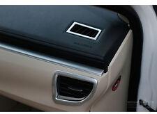 4 Pcs Chrome Car Internal Air Condition Vent Cover Trim for Toyota Corolla 2014