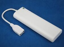 AA Battery USB Emergency Portable Backup Charger WHITE for iPhone 7 6s 6 Plus SE