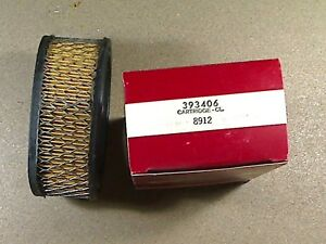 New Old Stock Air Filter Cartridge 393406 Briggs & Stratton