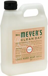 Clean Day Liquid Hand Soap by Mrs. Meyer's, 33 oz refill Geranium