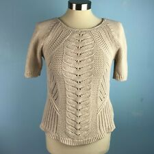 Gap Womens XS Beige Sweater S/S