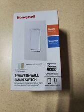 Honeywell UltraPro Z-Wave Plus Smart Light Switch, In-Wall White & Almond Paddle