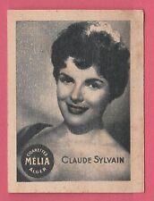 Cigarettes Melia Algeria Rare 1950s Film Star Tobacco Card - Claude Sylvain