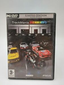 TrackMania United Forever Limited Edition PC DVD ROM Game
