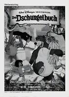 Kino # Original deutscher Werberatschlag # Das Dschungelbuch # 2000 # Animation