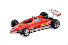 Formule 1 Ferrari 126 C2 2ème GP San Marino 1982 Villeneuve G. 1/43 BRUMM (R267)