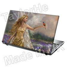 "17 ""Laptop Skin cover notebook adesivo FLOWER FAIRY 264"