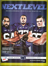 Sept.7,2013 Penn State vs Eastern Michigan Program+Free Collegian + Ticket 1st 2