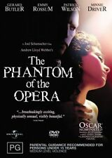 The Phantom Of The Opera (DVD, 2005), NEW and sealed, Region-4, free shipping
