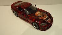 "Bburago Dodge Viper GTS Coupe 1:18 Airbrush Tuning "" Skull s of Hell"""