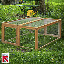 Folding Canterbury Rabbit Guinea Pig RUN Hutch Cage Pen