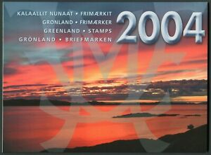 Greenland Official Year Set 2004 MNH Complete with all Stamps & Blocks + Ships