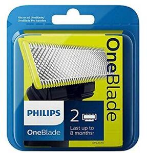 Philips QP220/50 OneBlade Lama 2 lame di Ricambio originale