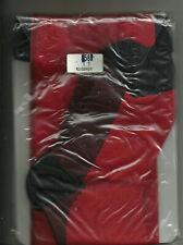 Collant Rouge couture Noir  talon cubain Chantal Thomass T 1