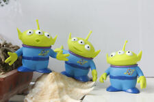 3pcDisney Toy Story Alien Plastic 4.5'' figures Xmas Gifts Collectible