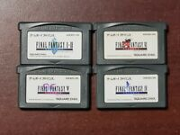 Game Boy Advance Final Fantasy I II IV V VI 1 2 4 5 6 Japan GameBoy GBA games