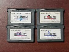 Game Boy Advance Final Fantasy I II IV V VI 1 2 4 5 6 Japan GBA 4 game US Seller