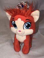 "Disney's Ariel Palace Pet Orange Cat Tiara Princess Plush Stuffed Animal Toy 9"""
