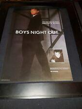 Timothy B. Schmit Boys Night Out Rare Original Radio Promo Poster Ad Framed!