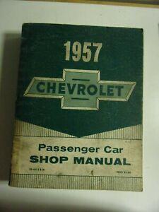 SHOP MANUAL USA MANUEL ATELIER CHEVROLET 1957 en anglais