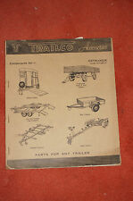 Trailco trailer products 1967 catalogue