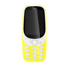 """NOKIA 3310 téléphone mobile en jaune 2.4"""" Affichage Radio FM sans SIM 2 G Caméra 2MP"""