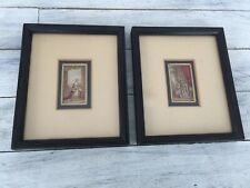 George Baxter 1804-1867 Translucent Oil Colors Miniatures Victoria & Albert