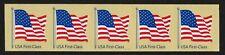 USA, SCOTT # 4134, STRIP OF 5 COIL PNC #V1111, NON-DENOMINATED YEAR 2007 FLAG