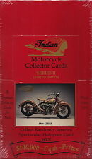 INDIAN MOTORCYCLE - Series 2 Factory Sealed Collector Cards Box #NEW