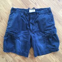 Ralph Lauren polo rugby fatigue Navy Cargo shorts Mens Size 36
