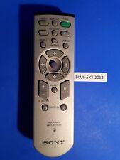 Sony RM-PJM12 Télécommande VPLCS 4 VPLCS 5 VPLCX 5 VPLCX 6 vplpx 11 VPLCS 1 vplpx 15